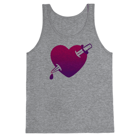 Heart and Dagger Tank Top