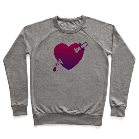Heart and Dagger Pullover