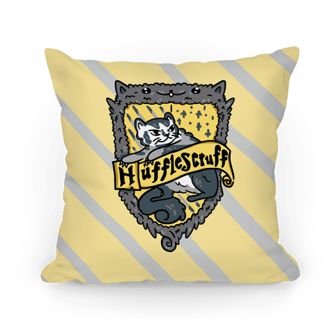 House Cats Hufflescruff Pillow