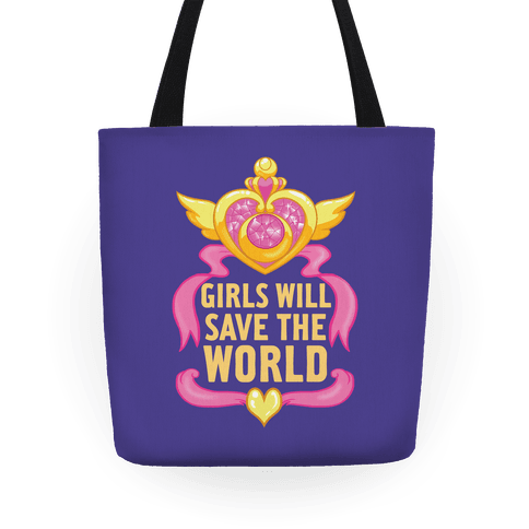 Girls Will Save The World - Totes - HUMAN