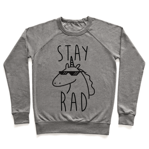 Stay Rad Unicorn Pullover