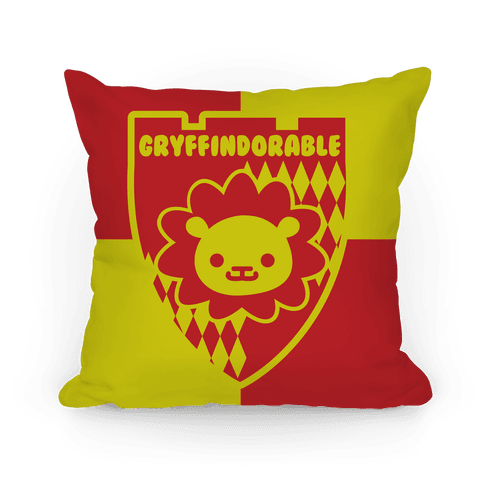 Gryffindorable Pillow