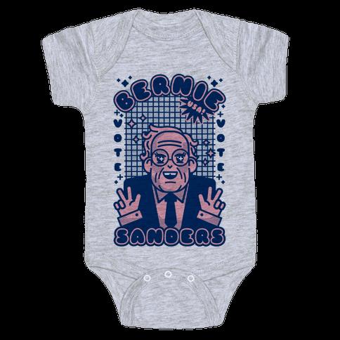 Anime Bernie Sanders Baby Onesy