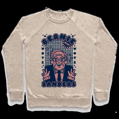 Anime Bernie Sanders Pullover