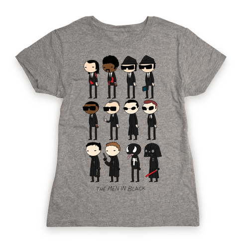 THE MEN IN BLACK Womens T-Shirt