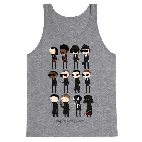 THE MEN IN BLACK Tank Top