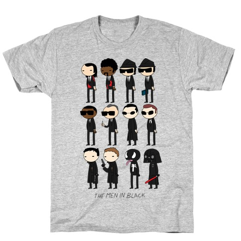 THE MEN IN BLACK Mens T-Shirt