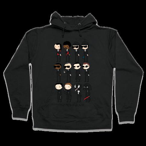 THE MEN IN BLACK Hooded Sweatshirt
