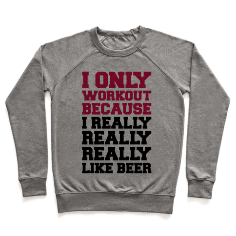 Beer Workout Pullover