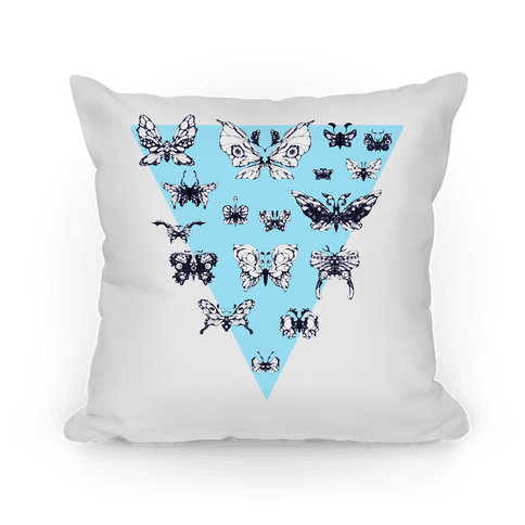 Moth Triangle Pillow