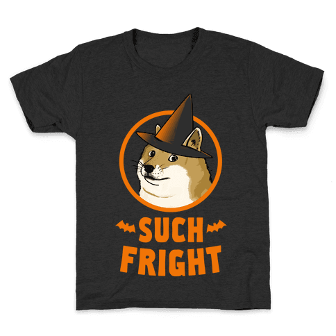 Doge: Such Fright! Kids T-Shirt
