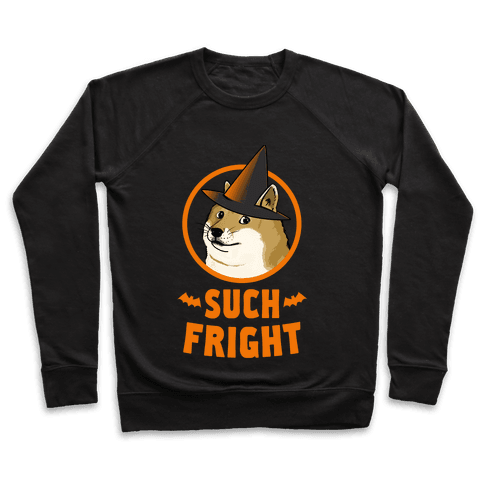 Doge: Such Fright! Pullover