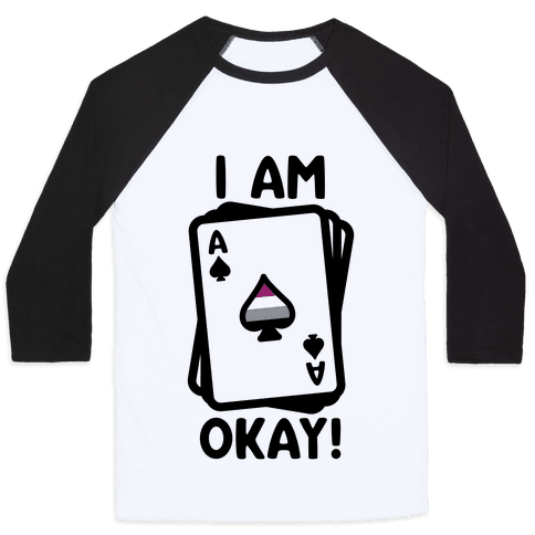 I Am A-Okay! Baseball Tee