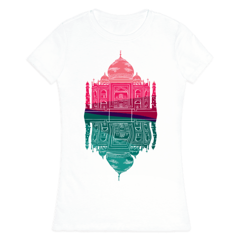 Taj Mahal Womens T-Shirt