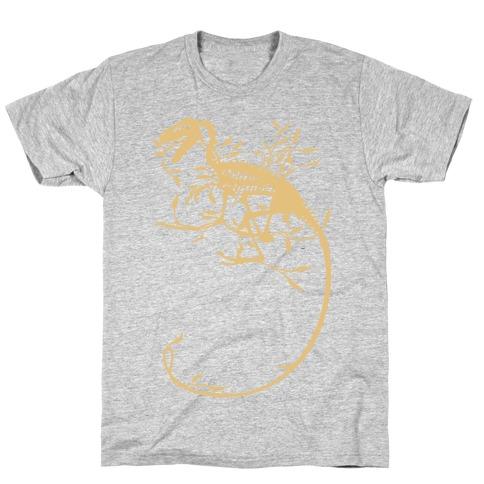 Floral Dinosaur T-Shirt