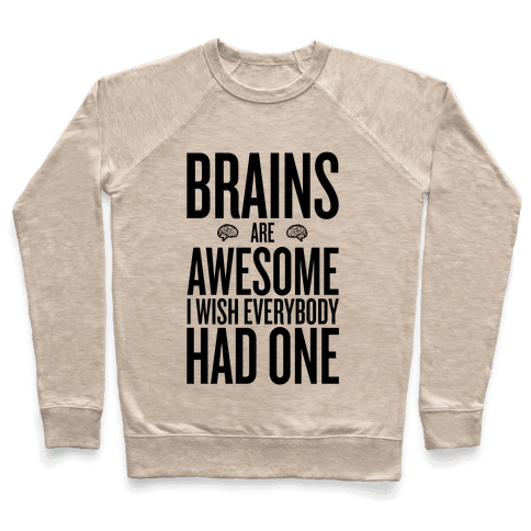 Brains are Awesome Pullover