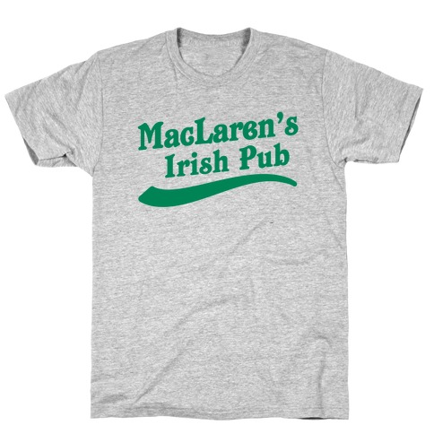 MacLaren's Irish Pub Mens T-Shirt