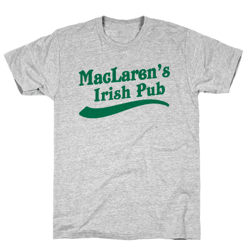 MacLaren's Irish Pub Mens T-Shirt