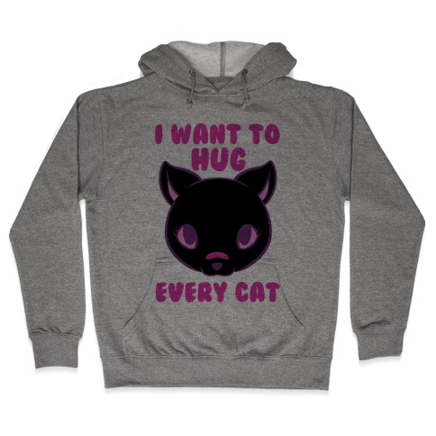 Hug Every Cat Hooded Sweatshirt