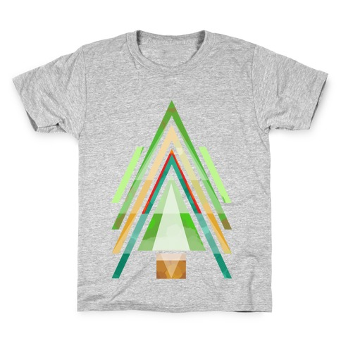 Geometric Summer Tree Kids T-Shirt