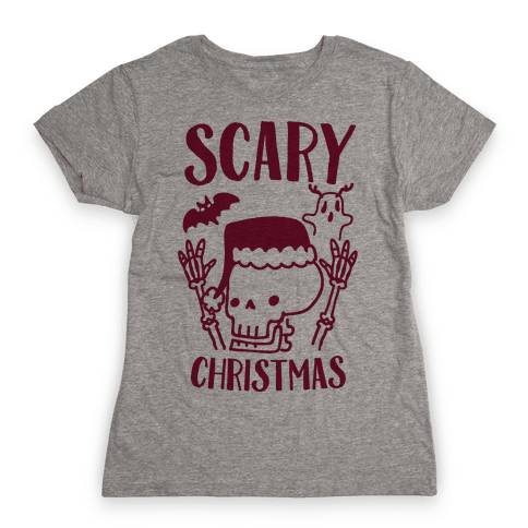 Scary Christmas  Womens T-Shirt