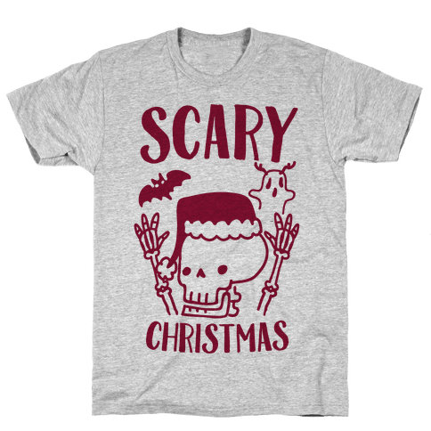 Scary Christmas  Mens T-Shirt