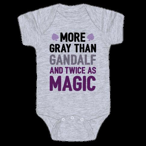 More Gray Than Gandalf Baby Onesy