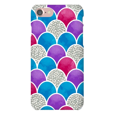 Rainbow Fish Scales Pattern Phone Case