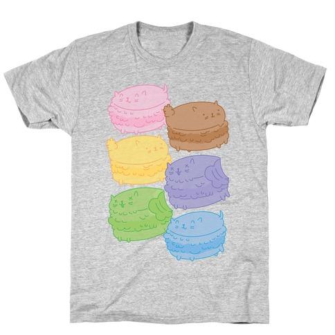 Cat Macarons T-Shirt