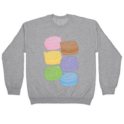 Cat Macarons Pullover