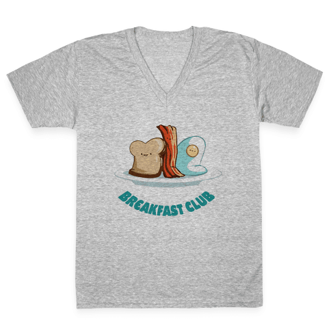Breakfast Club V-Neck Tee Shirt