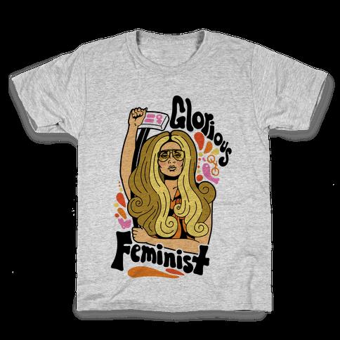 Glorious Feminist Kids T-Shirt