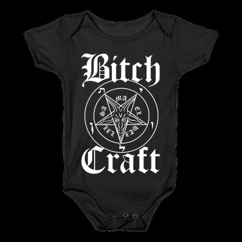 Bitchcraft Baby Onesy