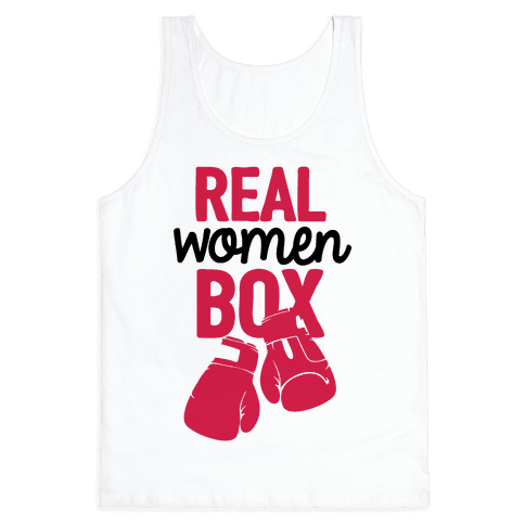 Real Women Box Tank Top