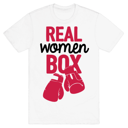 Real Women Box Mens T-Shirt