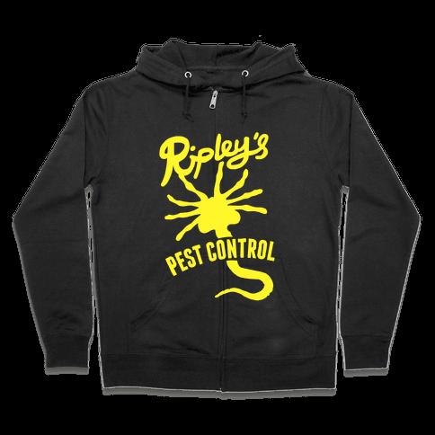 Ripley's Pest Control Zip Hoodie