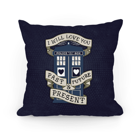 Doctor Who Tardis Pillow