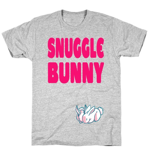 Snuggle Bunny Mens T-Shirt