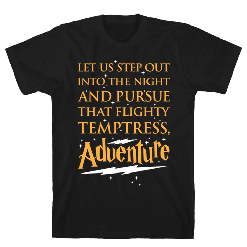 That Flighty Temptress, Adventure Mens T-Shirt