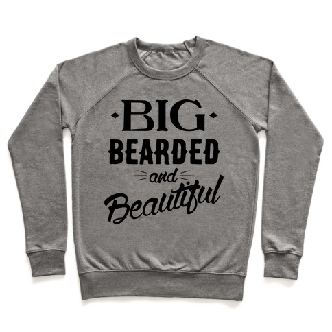 Big, Bearded and Beautiful Pullover
