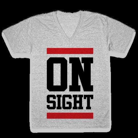 On Sight V-Neck Tee Shirt