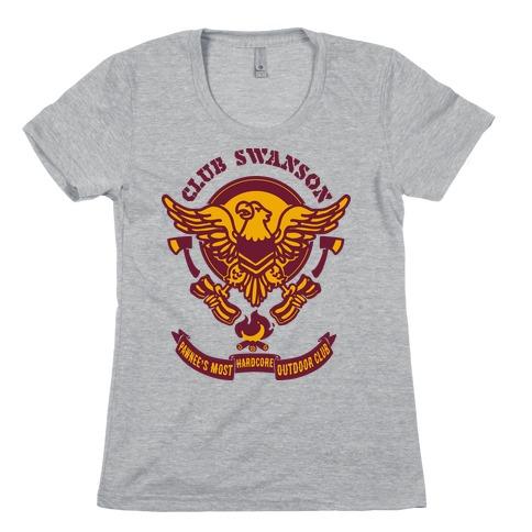Club Swanson Womens T-Shirt