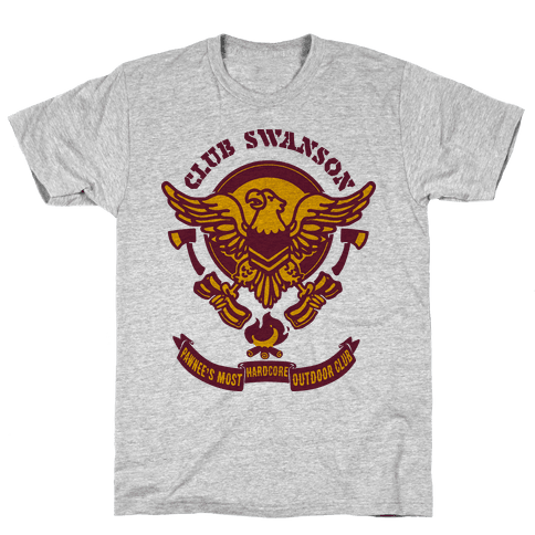 Club Swanson Mens T-Shirt