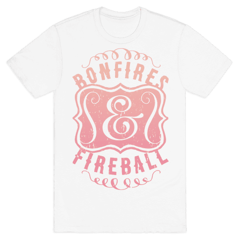 Bonfires And Fireball Mens T-Shirt
