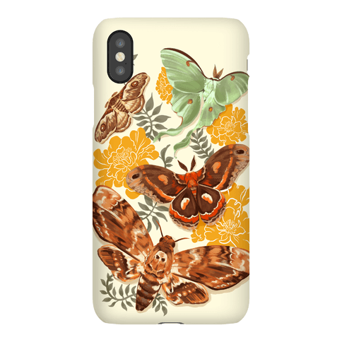 Moths & Marigolds Phone Case