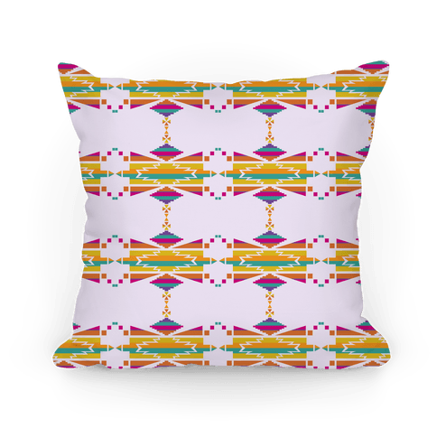 Aztec Print Pattern Pillow