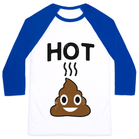 Hot Shit Baseball Tee