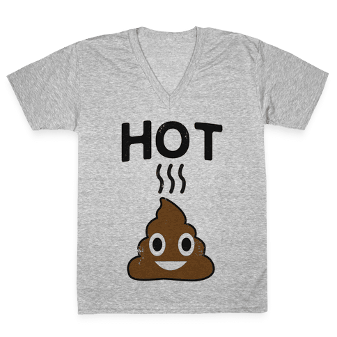 Hot Shit V-Neck Tee Shirt