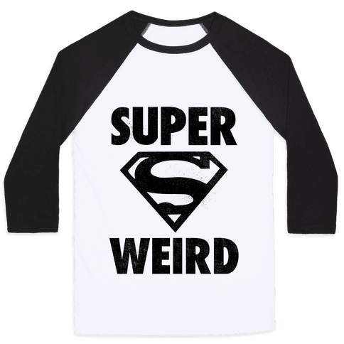 Super Weird Baseball Tee