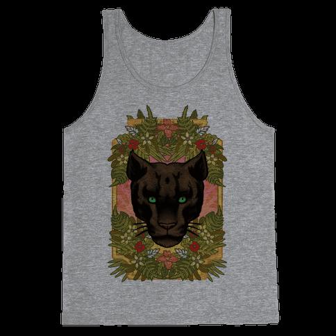 Lurking Panther Tank Top